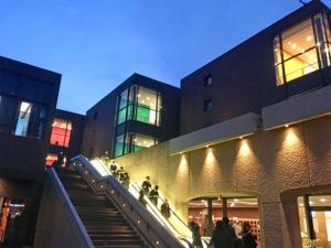東京都美術館夜景