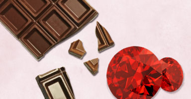 ルビーとチョコレート
