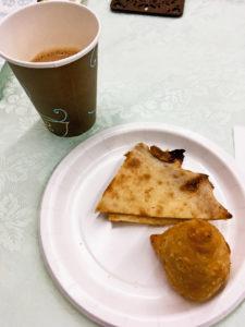 紅茶を楽しむ会マサラチャイサモサ