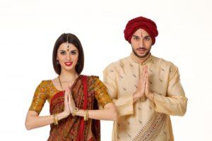 インド人男女